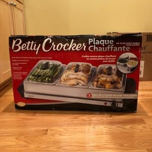 Other - Brand New! Betty Crocker's Electric Food Warmer